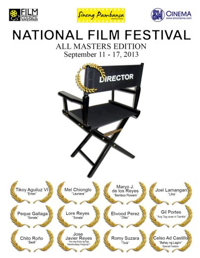 NFF 2013 ALL MASTERS EDITION