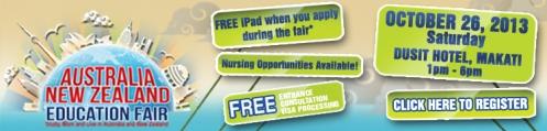Australia and New Zealand Education Fair