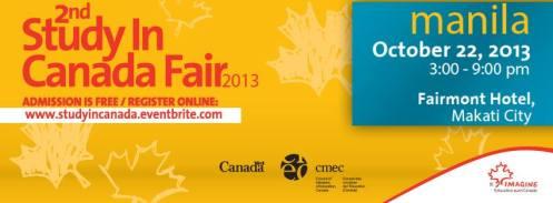 Study Fair in Canada 2013
