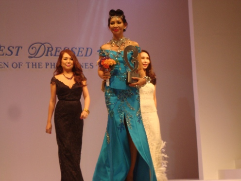 Joyce Pilarsky - one of the best dressed women of the Philippines