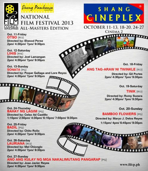 NFF Extended Showing at Shangrila Plaza