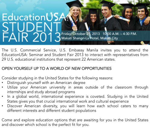 EducationUSA Student Fair 2013