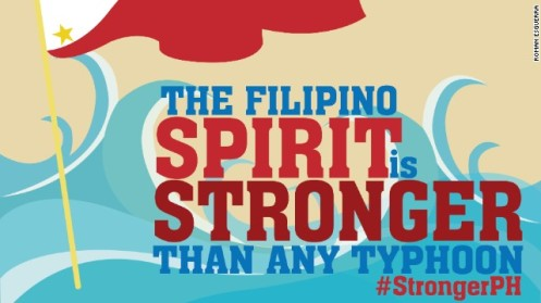 Against all odds...filipinos stand tall and proud!