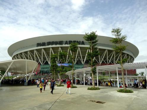 It is official... another Guinness Book record holder! The Philippine Arena is now the world's largest mixed-use theater which can hold up to 55,000 people located at Ciudad de Victoria, Bocuae, Bulacan.