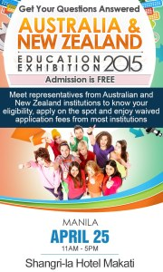 Australia and New Zealand Education Exhibition 2015