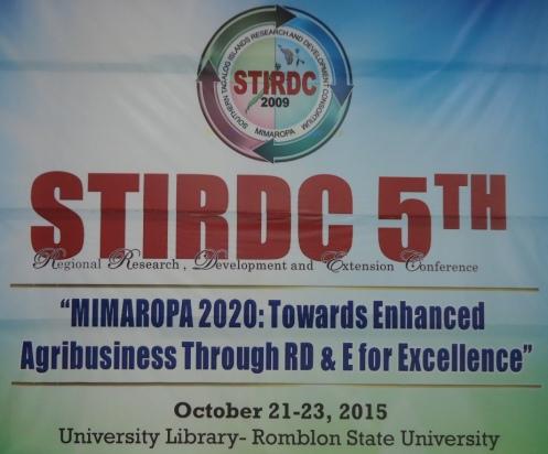 STIRDC at RSU